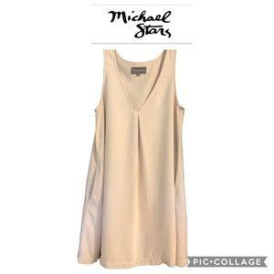 Michael Stars Nude V Neck Dress